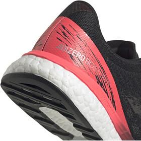 adidas Adizero Boston 9 Scarpe Donna, core black/core black/signal pink